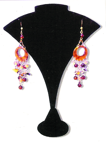Jewelry Display Earring BLK-19