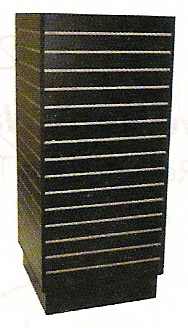 Slat Wall Floor Display 952